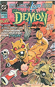 The Demon - DC comics   # 19  Jan. 1992 (Image1)