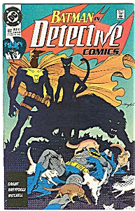 Detective comics - DC comics  # 612   March1990 (Image1)