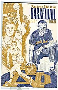 Notre Dame Basketballguide 1967-1968 (Image1)