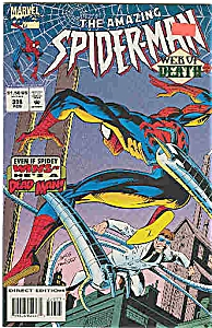 Spiderman -Marvel comics - # 398 Feb. 1995 (Image1)