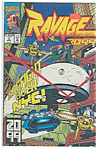 Ravage 2099 -Marvel comics - # 6 May 1993 (Image1)