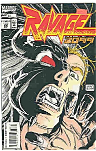 Ravage 2099 - M  arvel comics - # 22 Sept. 1994 (Image1)