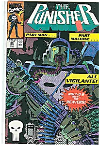 The Punisher -m Arvel Comics - # 34 June 1990