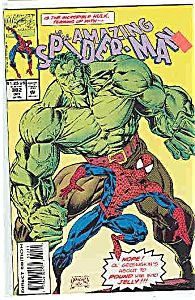 AMAZING SPIDER-MAN #382 1993 MINT MARVEL HULK (Image1)