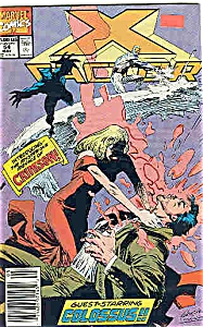 X-Factor - Marvel comics - May # 54  1990 (Image1)