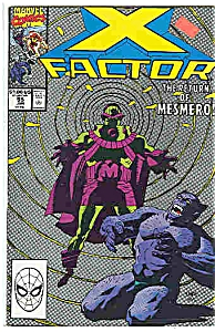 X-Factor - Marvel comics - # 55 June 1990 (Image1)