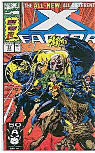 X-Factor - Marvel comics - # 7l  Oct. 1991 (Image1)