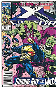 X-Factor - Marvel comics - # 4  Jan.1992 (Image1)