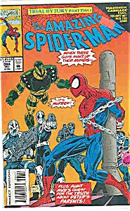 Spiderman - Marvel comics - # 384  Dec. 1993 (Image1)