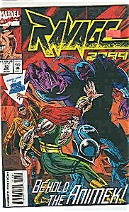 Ravage 2099 - Marvel comics - # 13 Dec. 1993 (Image1)
