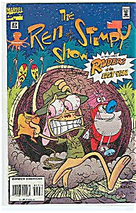 The Ren & Stimpy Show - Marvel Comics -#27 Feb.95