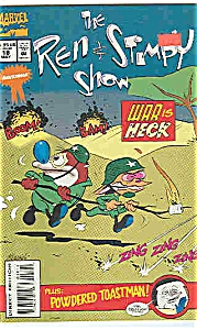 The Ren & Stimpy show - Marvel comics-#18 May 1992 (Image1)