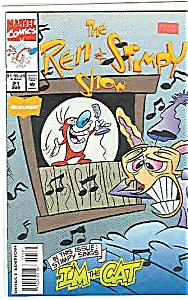 The Ren & Stimpy show -Marvel comics - # 21 Aug.92 (Image1)
