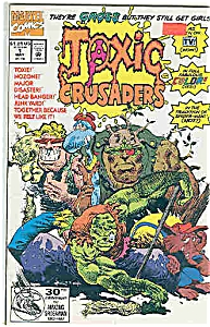 Toxic Crusaders - Marvel coics - # l May 1992 (Image1)