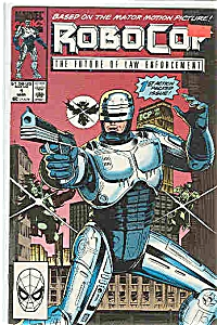 Robocop - Marvel comics   March 1990  # l (Image1)