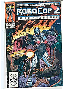 Robo cop 2 -Marvel comics - #l Aug.  1990 (Image1)
