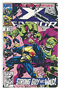 X-Factor - Marvel comics - # 74 Jan. 1992 (Image1)