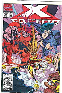 X-Factor - Marvelcomics - # 80 July 1992 (Image1)