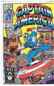 Captain America -Marvel comics - # 385 May 1991 (Image1)