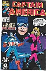 Captain America - Marvel comics - # 381 Jan. 1991 (Image1)