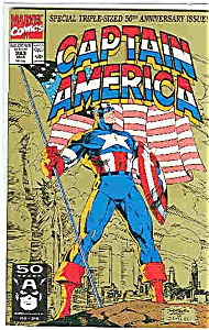 Captain America - Marvelcomics - # 383 March 1991 (Image1)