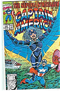 Captain America - Marvel comics - # 389 Aug. 1991 (Image1)