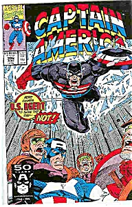 Captain America - Marvel comics - # 386 June 199l (Image1)