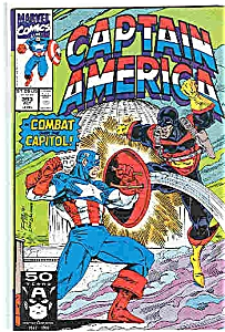 Captain America - Marvel comics - #393 Oct. 1991 (Image1)