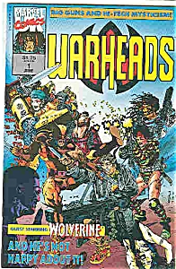 Warheads - Marvel comics - # l June 1992 (Image1)
