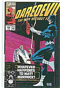 Daredevil - Marvel comics - # 288Jan.  1991 (Image1)
