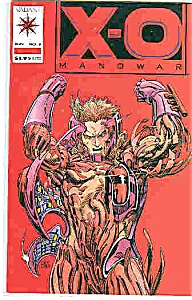 X-o Manowar - Valiant Comics - # 5 June 1992