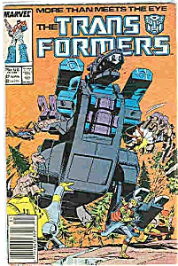 Trans Formers - Marvel comics # 27 April   1987 (Image1)
