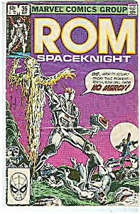 ROM -Spaceknight -  # 36 Nov.  1982 - Marvel comics (Image1)