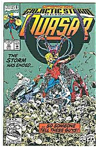 Quasar - marvelcomic - # 35 June  1992 (Image1)