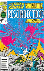 Silver Surfer - Marvel comics = # 4 June 1993 (Image1)