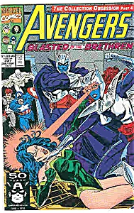 Avengers - Marvel comics - # 337 Sept. 1991 (Image1)