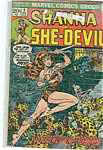 Shanna - She-Devil -DC comics - Feb. 1973  # 2 (Image1)
