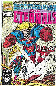 The Eternals - Marvel comics  # l  Nov. 1991 (Image1)