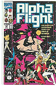 Alpha Flight - Marvelcomics  August 1991   # 99 (Image1)