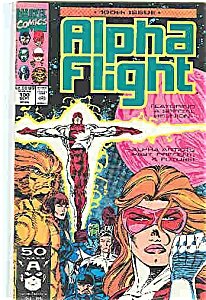 Alpha Flight Marvel Comics - # 100 Sept. 1991