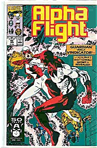 Alpha Flight - Marvel comics -  Jan.1991   # 92 (Image1)