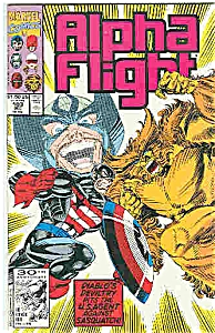 Alpha Flight - Marvel comics - # 103 Dec. 1991 (Image1)