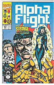 Alpha Flight - Marvelcomics - # 101 Oct.1991 (Image1)