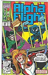 Alpha Flight - Marvel comics - # 102 Nov. 1991 (Image1)