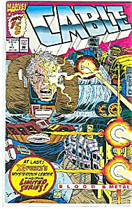 Cable - Marvel comics   Oct.   # l  1992 (Image1)