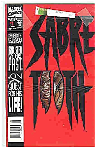 Sabre Tooth - Marvel comics - # l  Aug. 1993 (Image1)