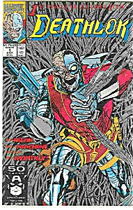 Deathlok - Marvel comics  1991  July   # l (Image1)