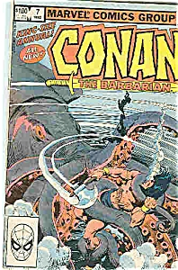 Conan the Barbarian Marvel # 7 1982 King Size Issue (Image1)