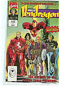 Knights of Pendragon - Marvel comics - # lJuly 1992 (Image1)