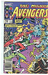 The Mighty Avengers - Marvel comics - # 246 Aug. 1984 (Image1)